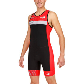 KiWAMi Prima Race 2 Suit Men black/red